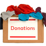 Donate clothes to orphanages